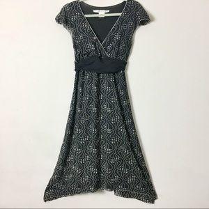 Max Studio black dress M knee length